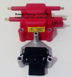 Bobine Allumage POWER VOLTAGE VW-AUDI-SKODA