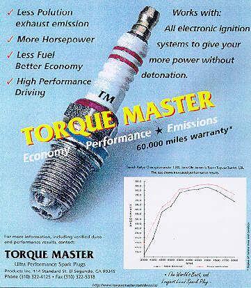 TorqueMaster l'unica candela al mondo capace di aumentare le